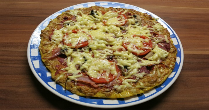 Low-Carb Power-Pizza - Fitnesstrainer Wien