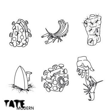 Tate Modern Surrealist matching game