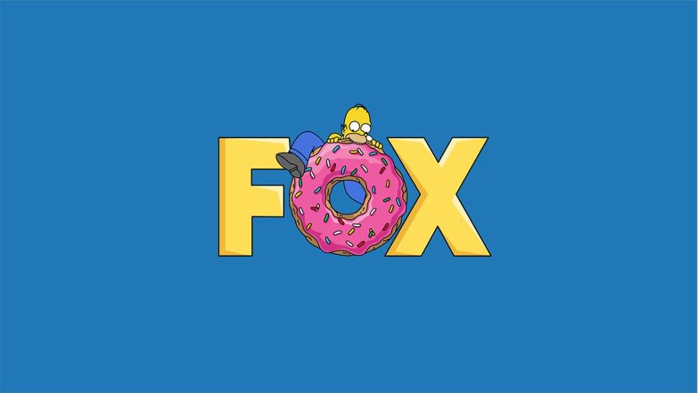 Homer eating the donut