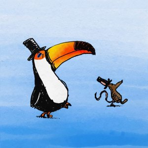 Toucan and Mouse