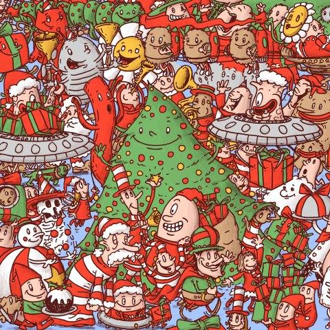 Christmas doodle 2020