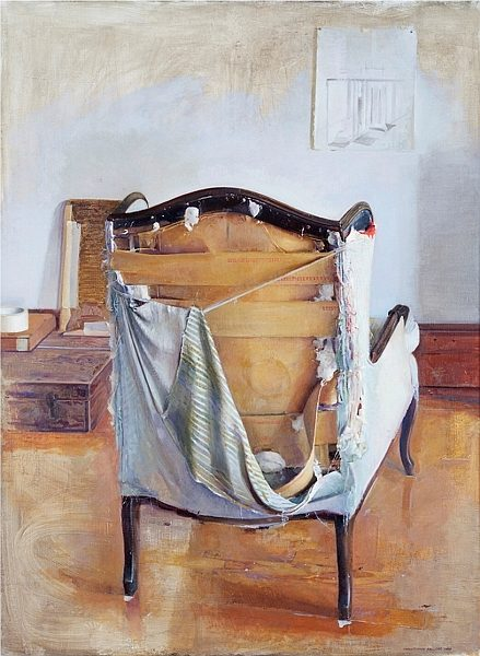 Christopher Gallego, American, b. 1959, 2000, Oil on canvas, 60 x 44 in., Sold