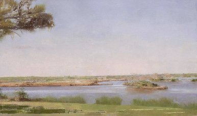 Christopher Gallego, Image Title: Lake Clara, Richmond Hill, GA