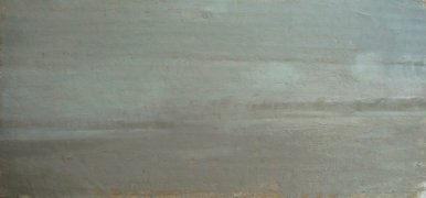 Ocean City Beach, #2, 2011 Oil on cardboard, 6 x 13 in. $1100