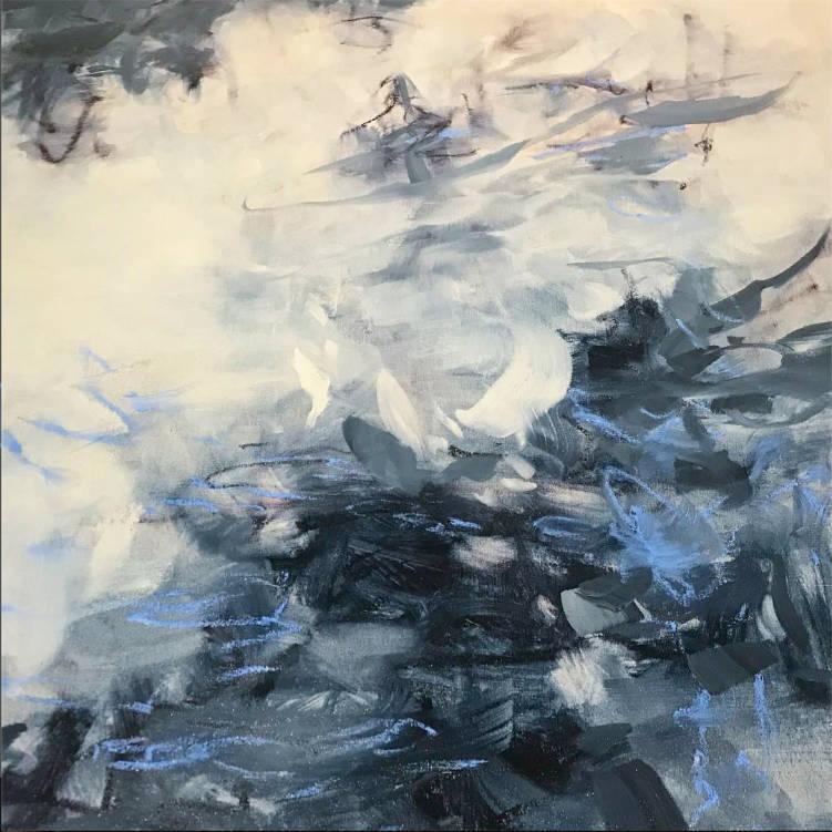 Christopher Gallego Artist–Blog Post: How to Handle Obnoxious Amateur Art Critics–Painting by Cameron Schmitz