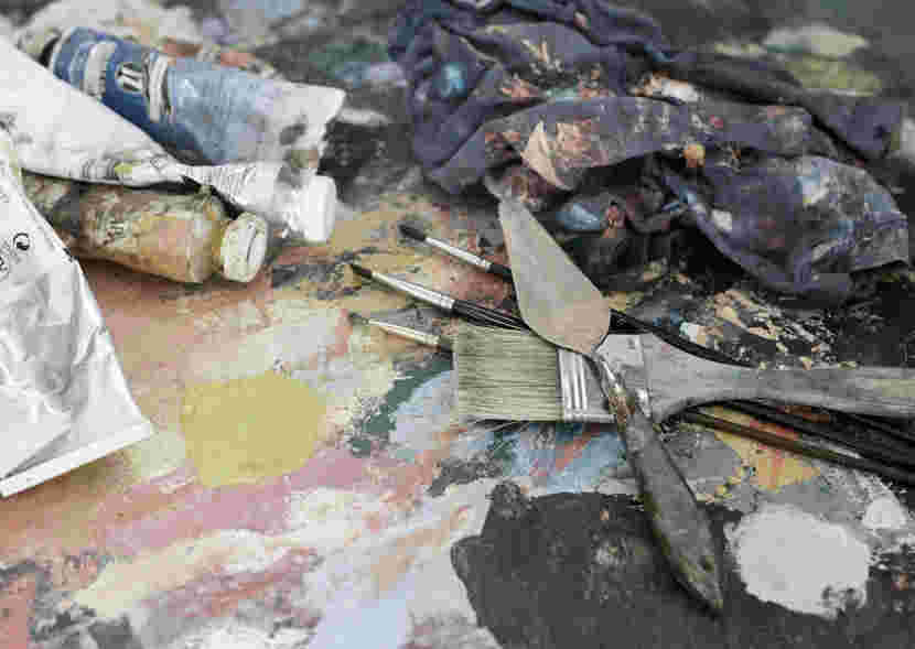 Christopher Gallego Blog Post: Should You Dump Your Job and Paint Full Time?""
