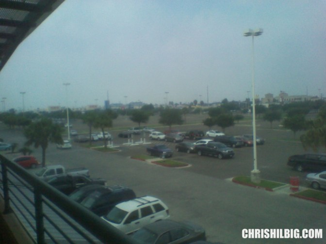 Another view from shopping center.