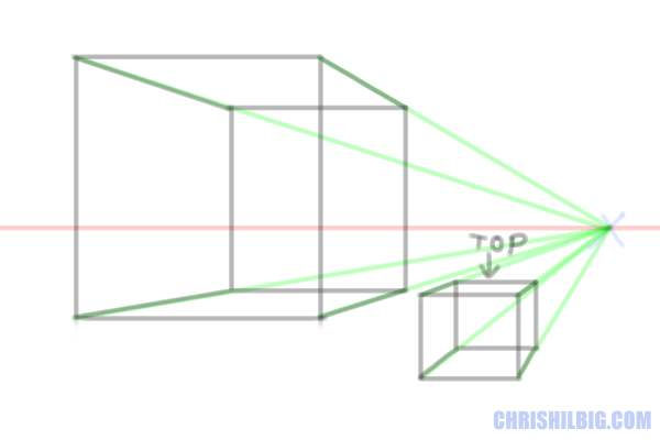 drawing-a-cube-in-one-point-perspective-step06