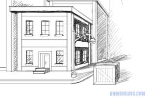 Yes, You Too Can Draw! – Ch 9 — One-Point Perspective