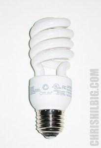 OttLite 15 watt lightbulb