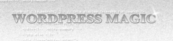 Wordpress magic header