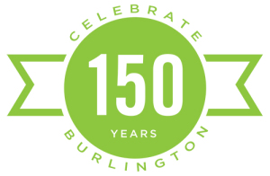 Burlington Vermont 150 birthday