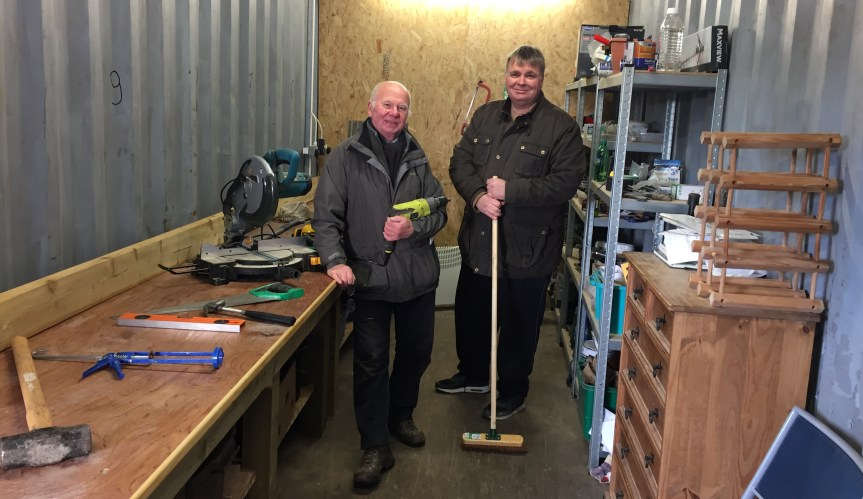 Men's Shed for Stirling at Braehead Community Garden