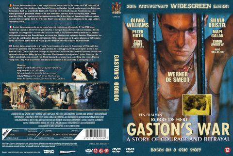 Gaston's War DVD Cover