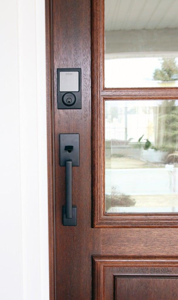 Sneak Peek at the new Front Door + Schlage Giveaway!