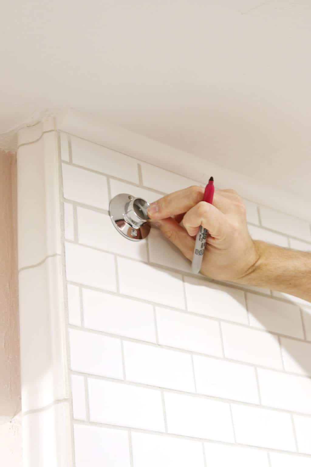 How To Drill Into Tile To Hang A Shower Curtain Chris