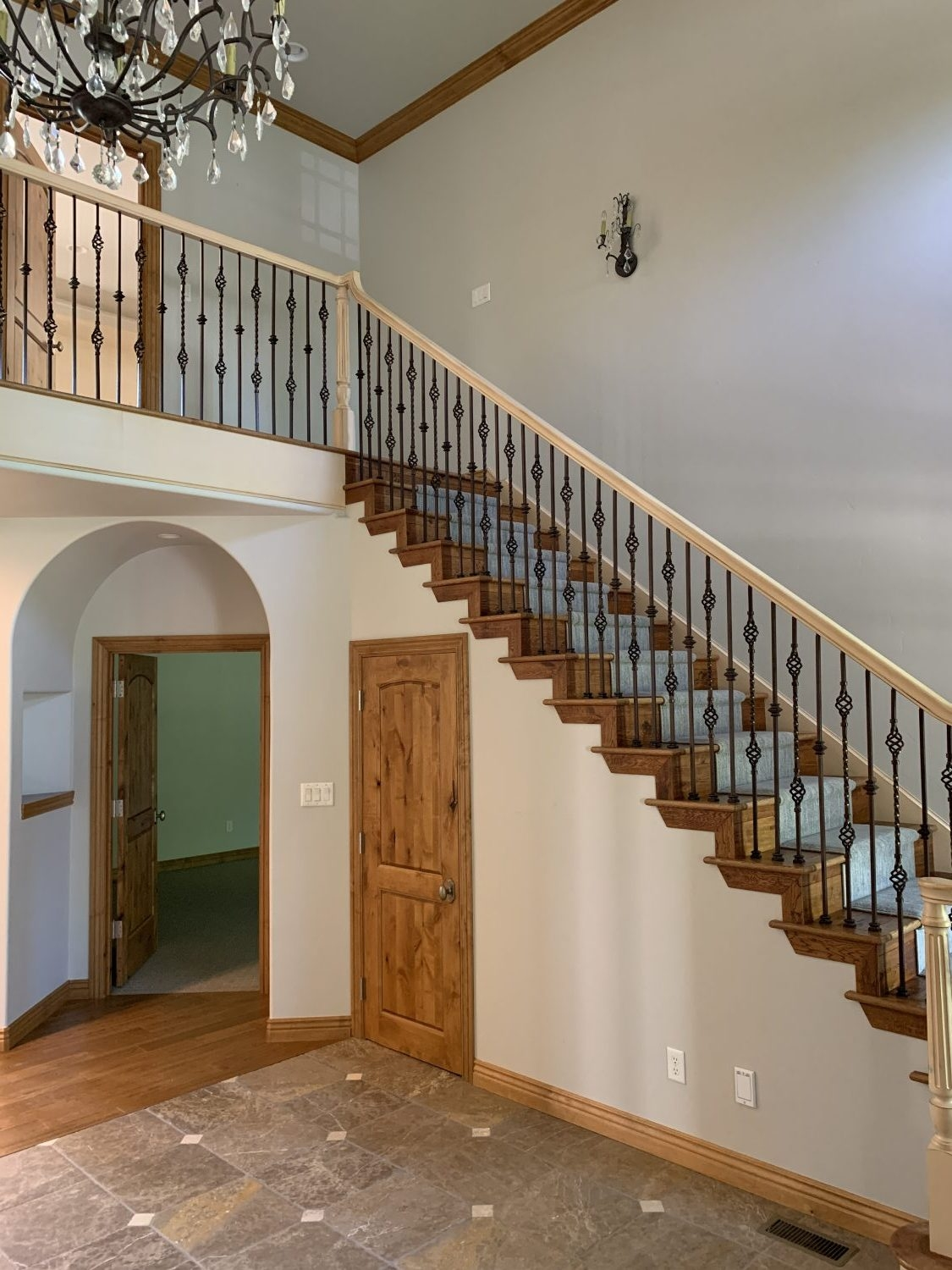 The Top Staircase Railing Inspiration Photos We Re Using To Design | Two Tone Stair Railing | White | Indoor | Antique | Mansion | Country Style