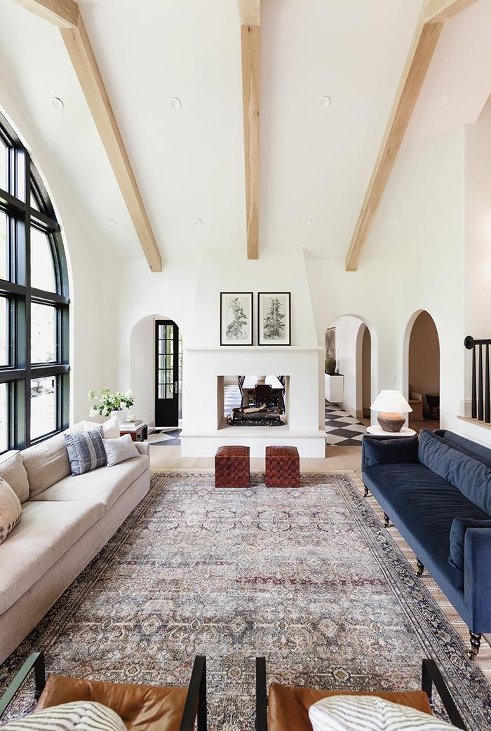 Cottage Living Room Chris Loves Julia
