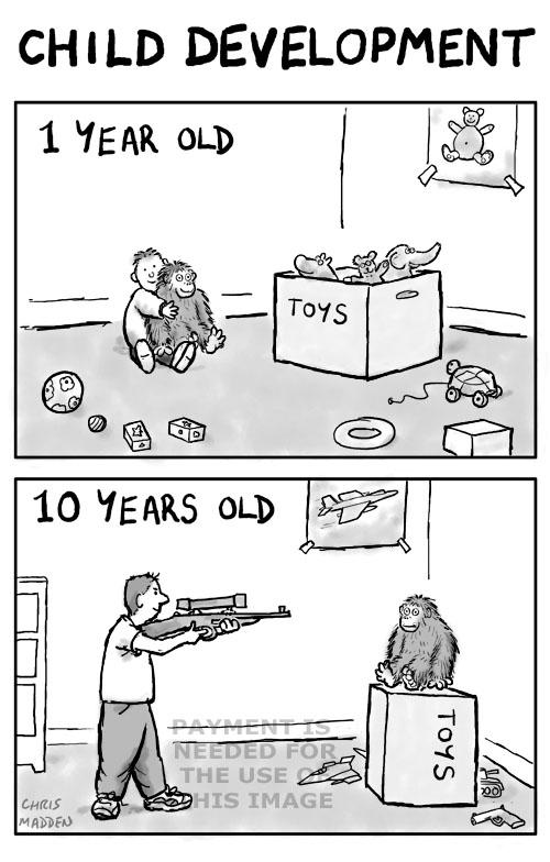 child psychology cartoon