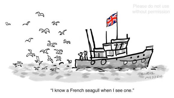 Brexit fishing quotas cartoon