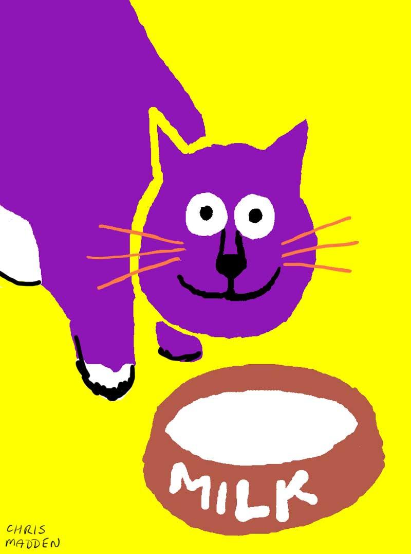 cat print art