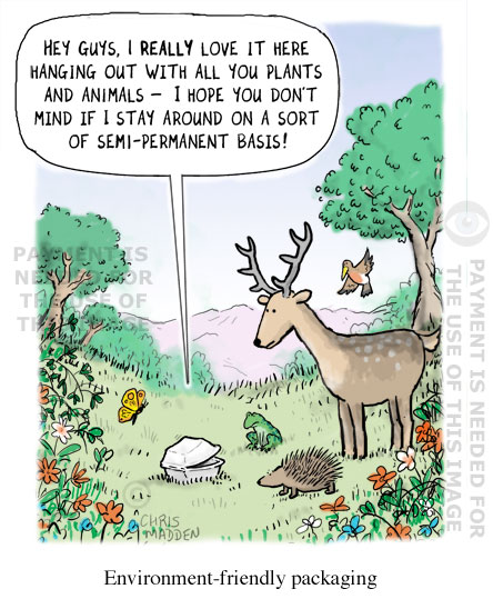 Environmental Cartoon Packaging