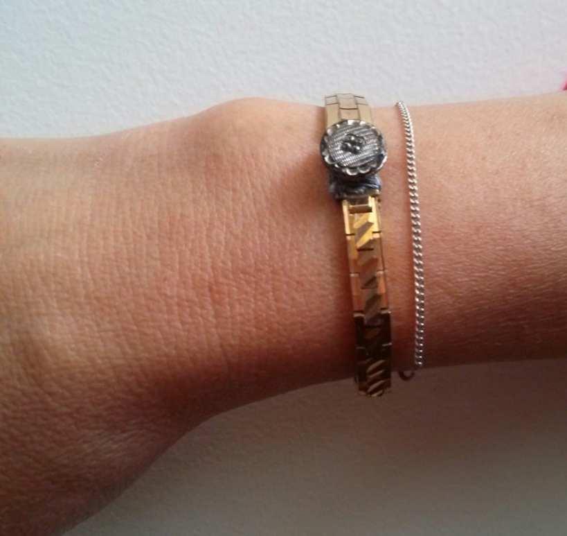 Bracelet avec ancien bracelets de montres