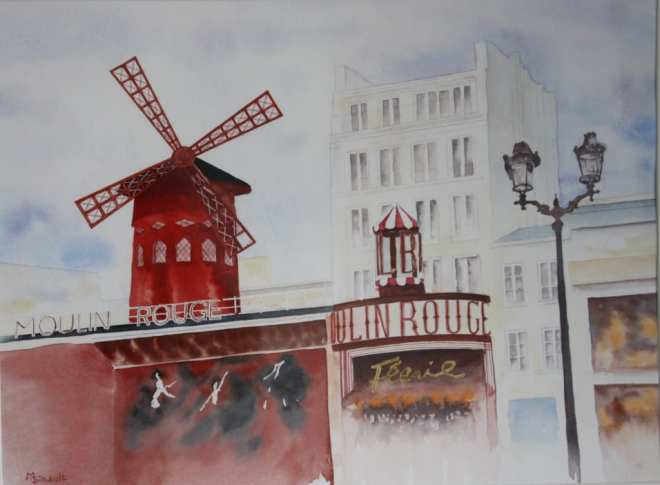 Martine Gibault Moulin rouge