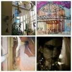 """L'installation """"Les passages"""" de Chrismali s'est posée à l'Abbaye, 10 quai Beaubourg à Saint-Maur 94100"""