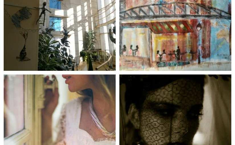 L'installation «Les passages» de Chrismali s'est posée à l'Abbaye, 10 quai Beaubourg à Saint-Maur 94100