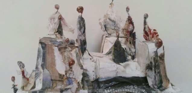 Les petits mondes de Chrismali, des sculptures miniatures, un univers vivant et végétal