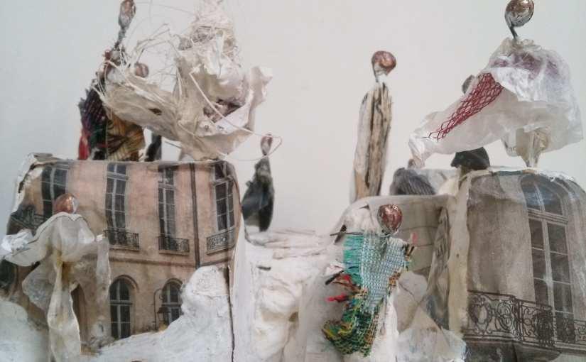 Portes ouvertes artistes à Belleville, Ulup présente les petits mondes de Chrismali, des sculptures poétiques en  végétal – jusqu'au 26 mai