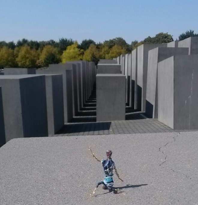Berlin, mémorial des juifs déportés dans le monde