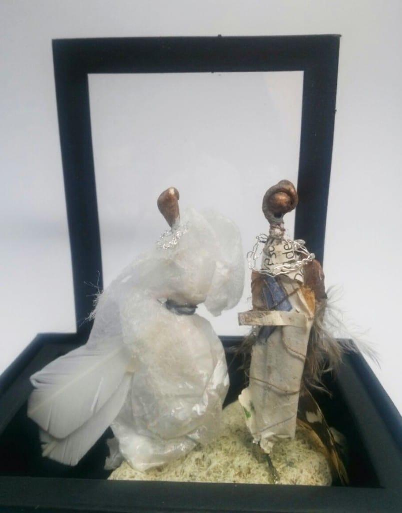 le forestier et la dame en blanc