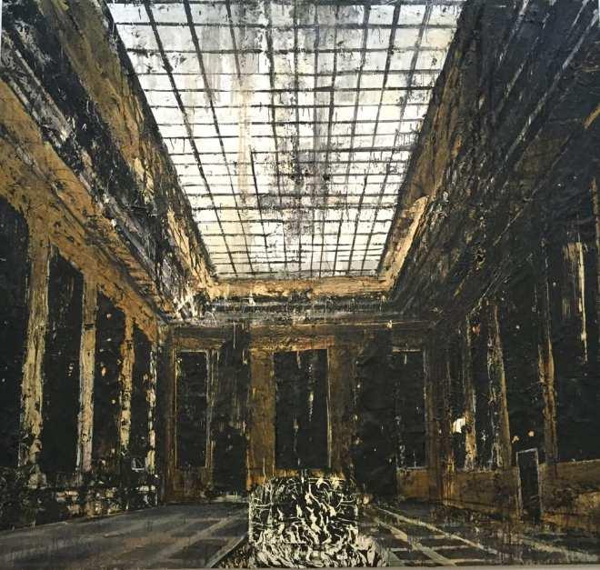 kiefer-Beaubourg-retrospective--1981-Innenraum