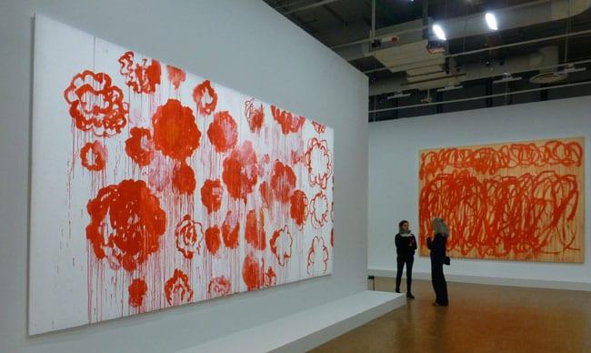 Cy Twombly retrospective au Centre Pompidou