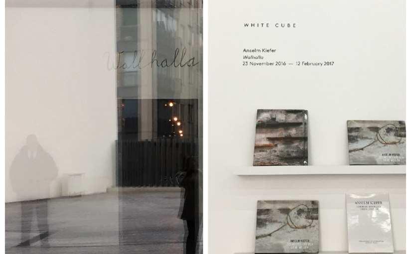 Kiefer exposition Whalhalla à la White Cube de Londres