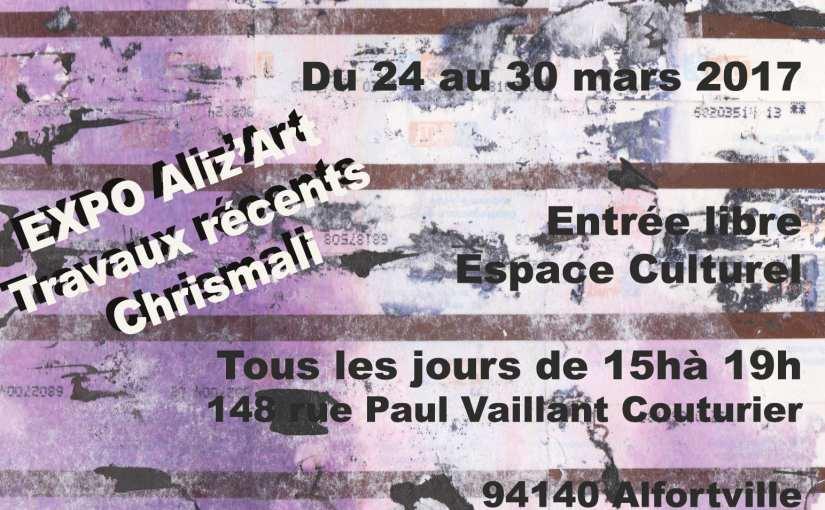 Citoyenne de paris, je suis Stif! présenté à l' Expo Aliz'Art – 24 au 30 mars – Alfortville