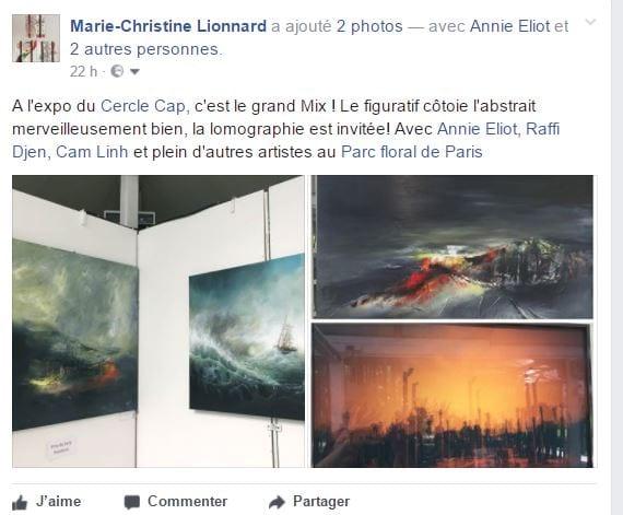 Expo Cap Raffi Djendoyan ,Annie Eliot, Cam Linh