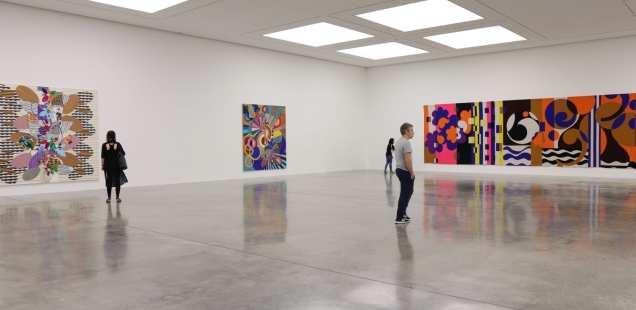 Londres en couleurs - Katharina Grosse chez Gagosian -Beatriz Milhazes à la White Cube