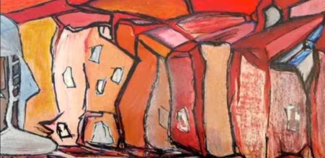 Exposition Henry Paul Pandaure - dérives Habissoises à l'atelier Evelyne Smolarski