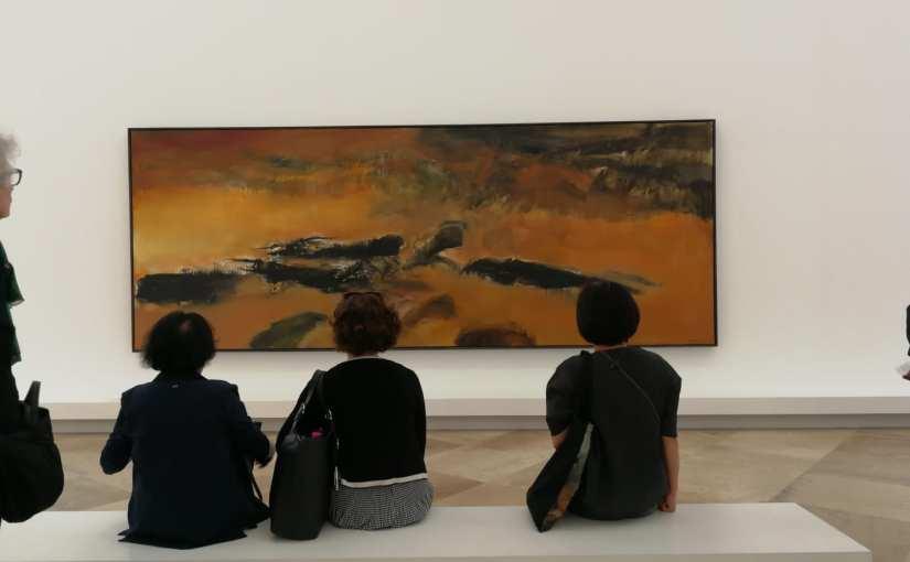 Zao Wou-Ki – L'espace est silence Musée d'Art Moderne de la Ville de Paris