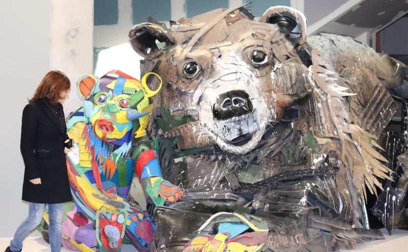 Bordalo II – street artiste engagé – Expo Galerie Mathgoth