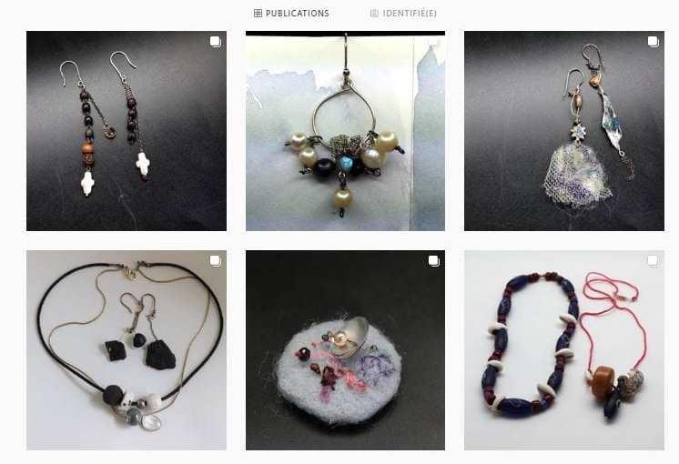 Des bijoux autrement – bijoux Chrismali