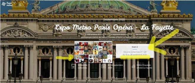 Expo Paris métro