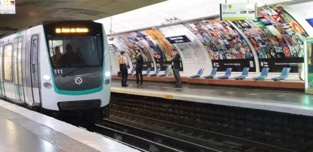 Paris métro artistique  - Expo métro souvenirs