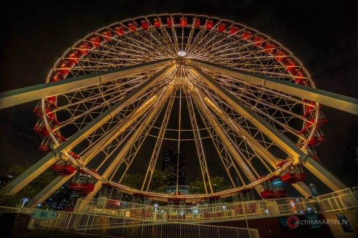 Navy Pier Ferris Wheel, Chicago, IL