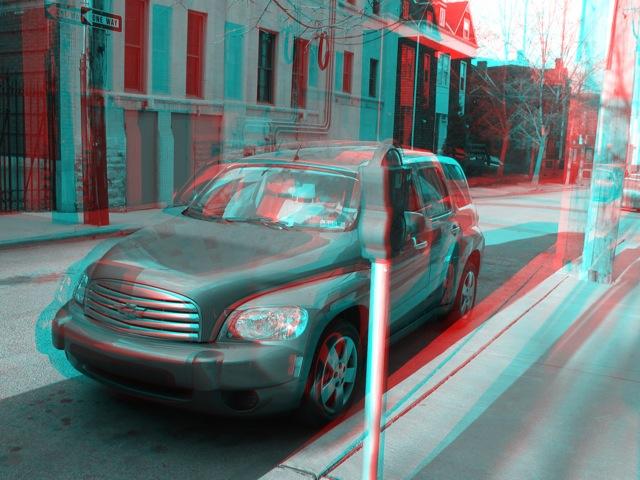 3D Parked Car