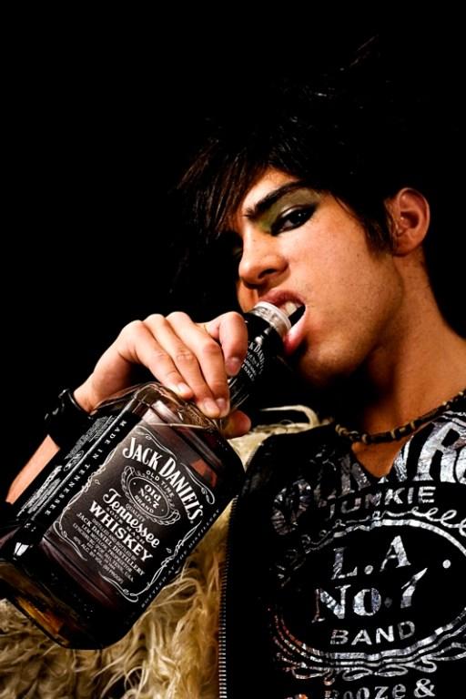Shiima with Jack Daniels