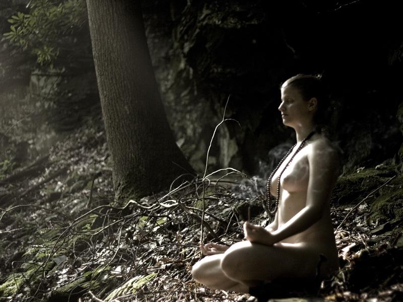 Rachael meditating 2